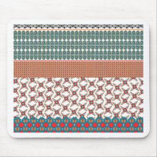 Modern Africa Border Mouse Pad