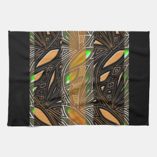Modern African Abstract Motif Kitchen Towels