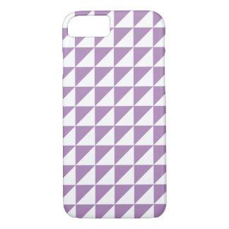 Modern African Violet Geometric iPhone 7 Case