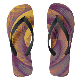 modern and abstract background flip flops