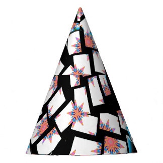 modern and abstract background party hat