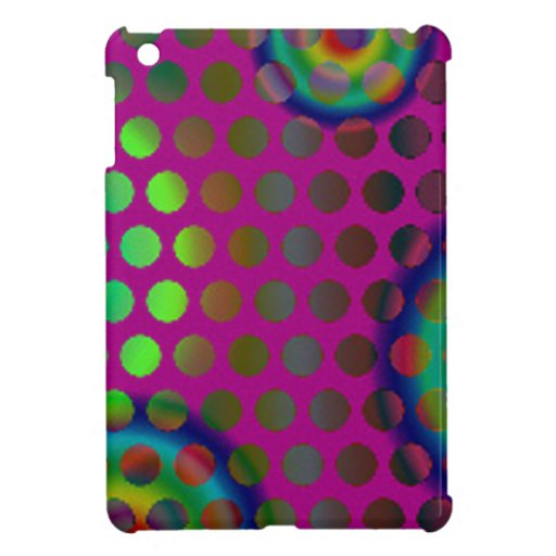 modern and colorful design to spots iPad mini covers