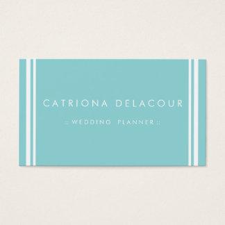 Modern and Elegant Blue Business Card