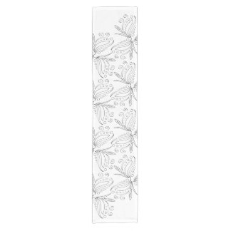 Modern and Elegant floral pattern Short Table Runner