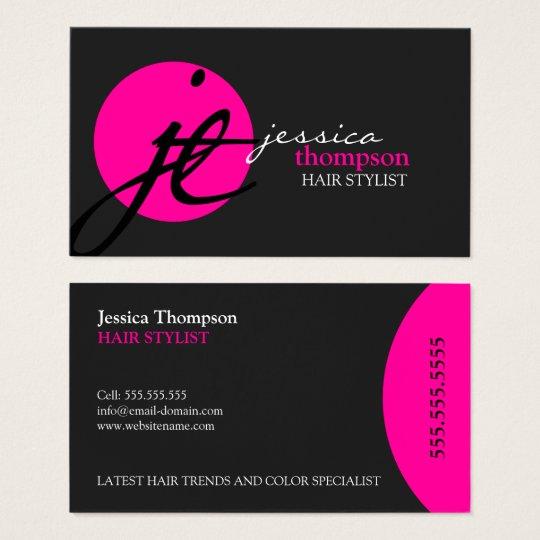 Modern and Elegant Stylist Business Card