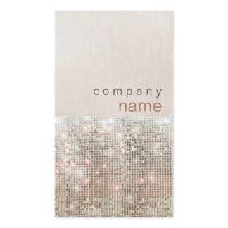 Modern and Hip Beauty and Fashion Salon Pack Of Standard Business Cards