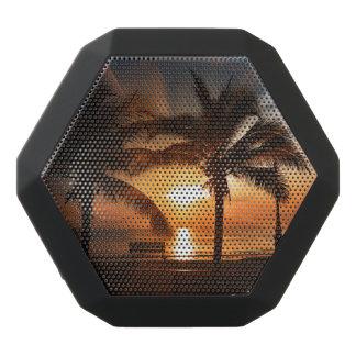 Modern and Trendy Sunset Black Bluetooth Speaker