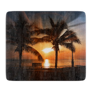 Modern and Trendy Sunset Cutting Board
