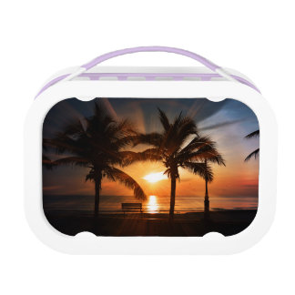 Modern and Trendy Sunset Lunch Box