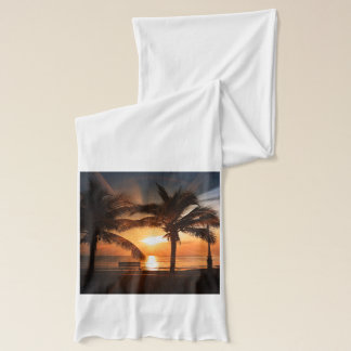 Modern and Trendy Sunset Scarf