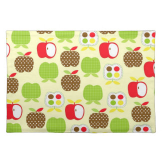 Modern Apple Placemats