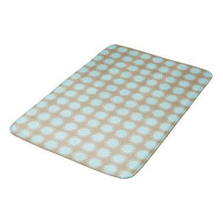 Modern-Aqua-Beige-Sun-Rise-Bath-Bed-RUGS-S-M-L Bath Mat