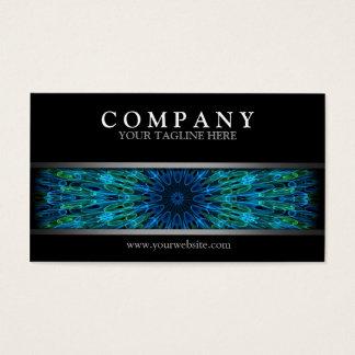 Modern Aqua Explosion Business Card