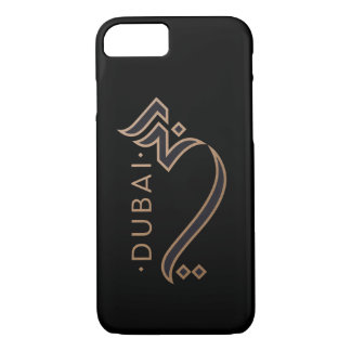 modern arabic calligraphy - Dubai iPhone 8/7 Case