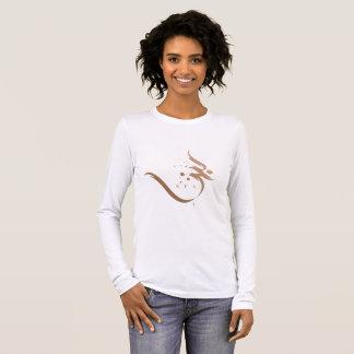 modern arabic calligraphy - sea long sleeve T-Shirt