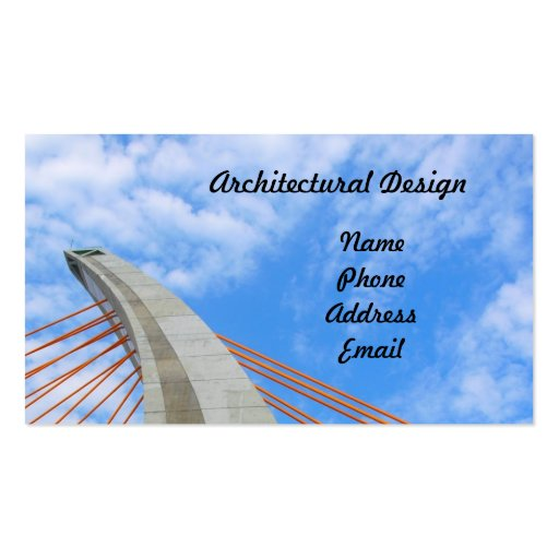 Modern Architectural Design Business Cards