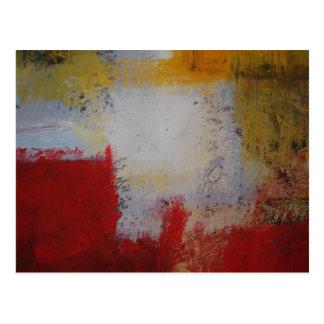 Modern Art - Abstract Art Painting Postcard