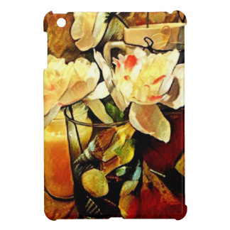 Modern Art Floral Cover For The iPad Mini