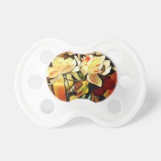 Modern Art Floral Pacifier