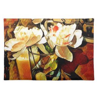 Modern Art Floral Placemat