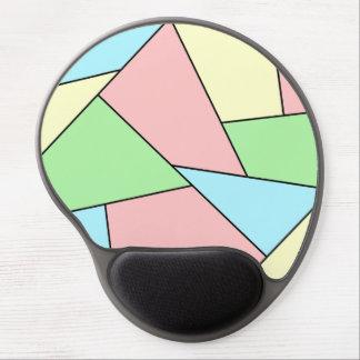 Modern art gel mouse pad