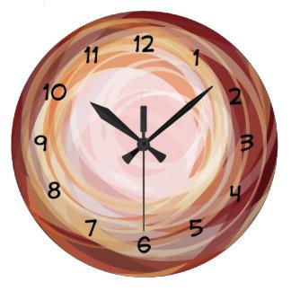 Modern Art Home Decor Clock