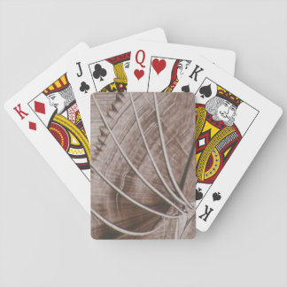 modern art in layer of I baralho Playing Cards