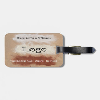 Modern Art Logo Tag By B2BDesigns