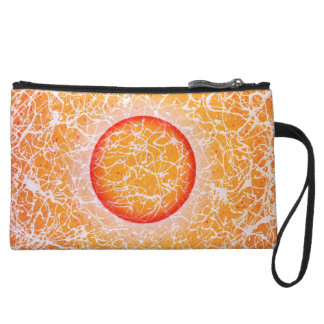 Modern Art Meditation Mini-Clutch Wristlet Purses
