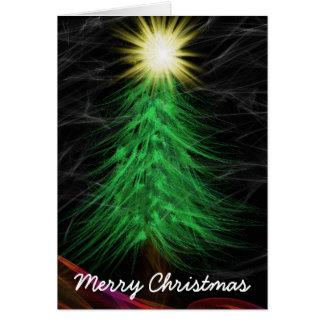 Modern Art Merry Christma Card