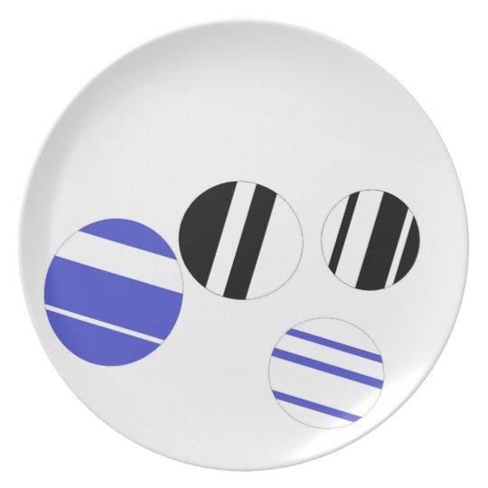 Modern Art Plate