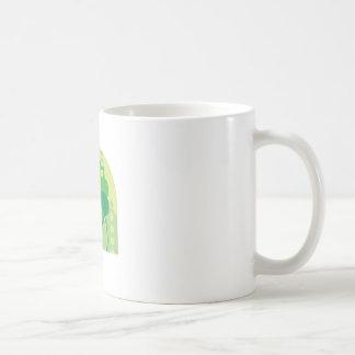 Modern Art St. Patrick's Day Design Coffee Mugs