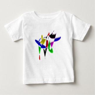 Modern art texture baby T-Shirt