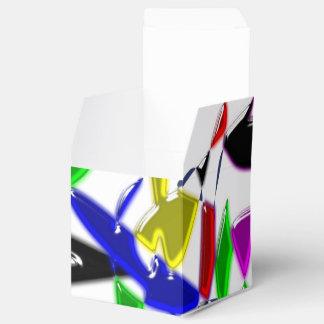 Modern art texture favor box