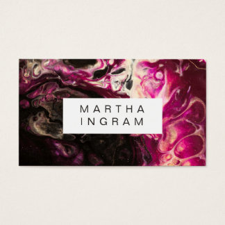 Modern Artistic Creative Design Business Card
