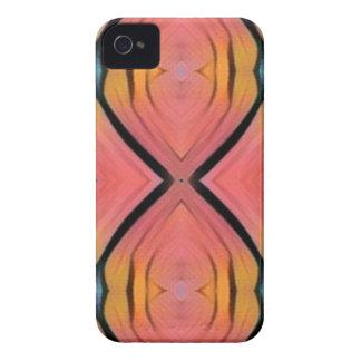 Modern Artistic Peach Pattern iPhone 4 Case-Mate Cases