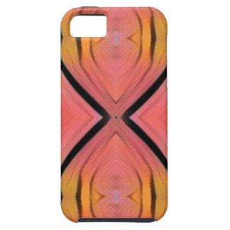 Modern Artistic Peach Pattern iPhone 5 Covers