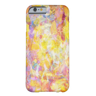 Modern Artsy Abstract Background Barely There iPhone 6 Case