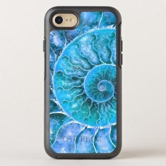 Modern Artsy Beach Design OtterBox Symmetry iPhone 8/7 Case