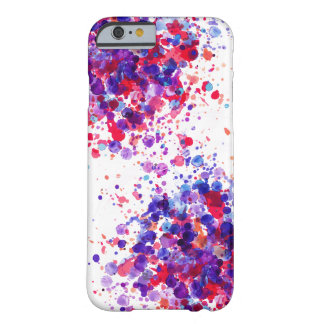 Modern Artsy Watercolor Style Barely There iPhone 6 Case