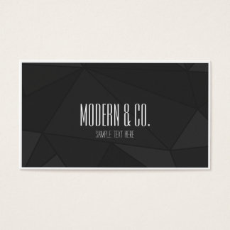 Modern & Attractive business card