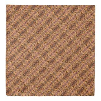 Modern Autumn Leaves Silhouette Pattern Duvet Cover