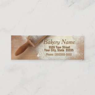 Catering company business cards profile cards zazzle ca modern bakerycatering company business card reheart Image collections