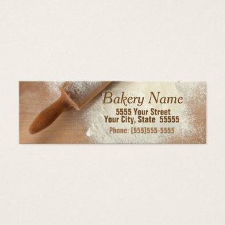 Modern Bakery/Catering Company Business Card