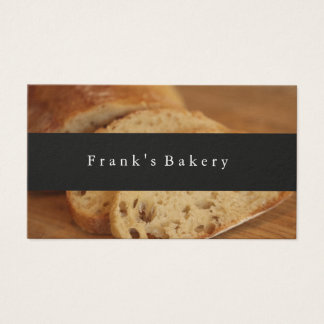 Modern Bakery Loaves of Bread Business Card