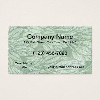 Modern Batik Texture Business Card