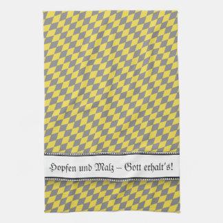 Modern Bavarian Statement Kitchen Towel