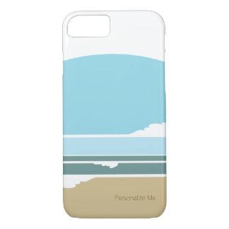 Modern Beach Scene iPhone 7 Case