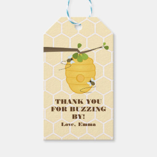 Modern Bee Pack Of Gift Tags