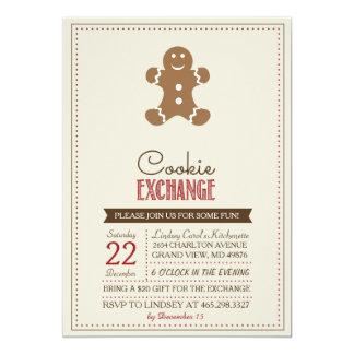 Modern Beige Cookie Exchange Invitation